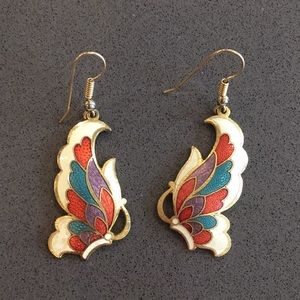 Jewelry - Vintage Butterfly Earrings